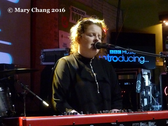 Frances at BBC Introducing PRS Foundation showcase, Latitude 30 Wednesday night at SXSW 2016