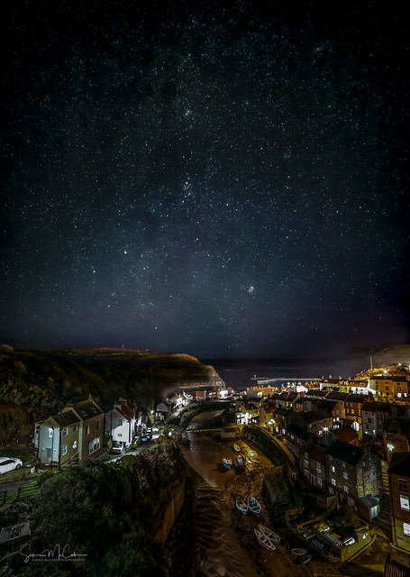 Staithes under the stars