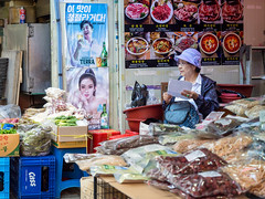 Woman in Namdaemun Market