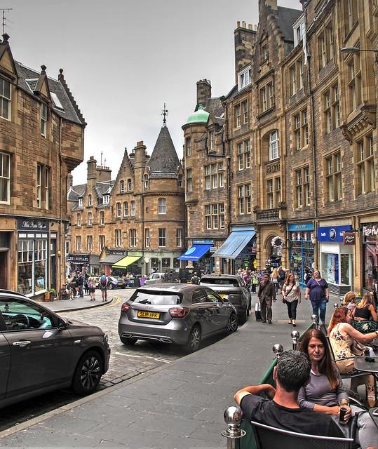 Cockburn Street-Edinburgh Scotland 9364