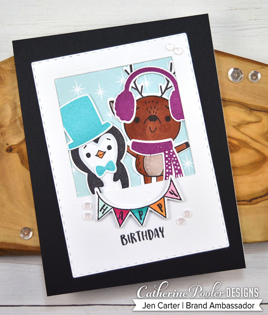 Jen Carter Happy Buddies Build a Snowman Birthday