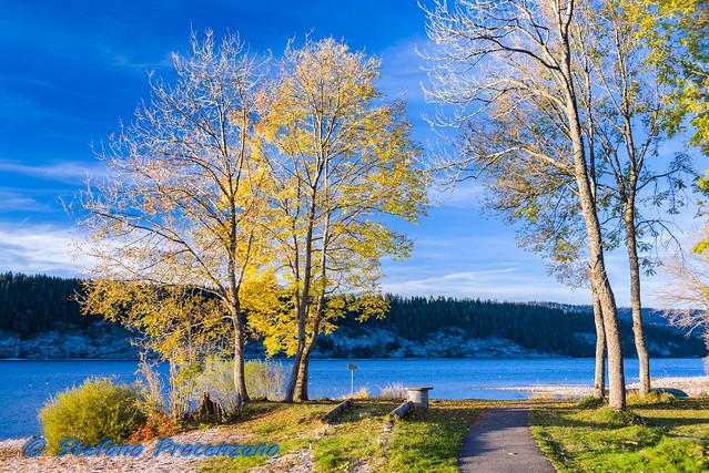 Lac de Joux, L'Abbaye