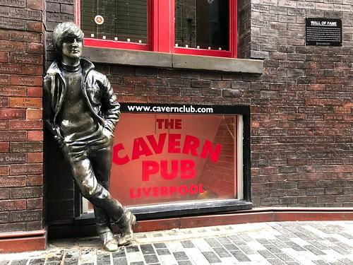 John Lennon Statue, near the Cavern Club in Liverpool