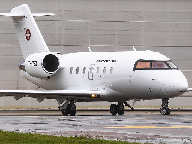 Swiss Air Force | Canadair CL-600-2B16 Challenger 604 | T-751
