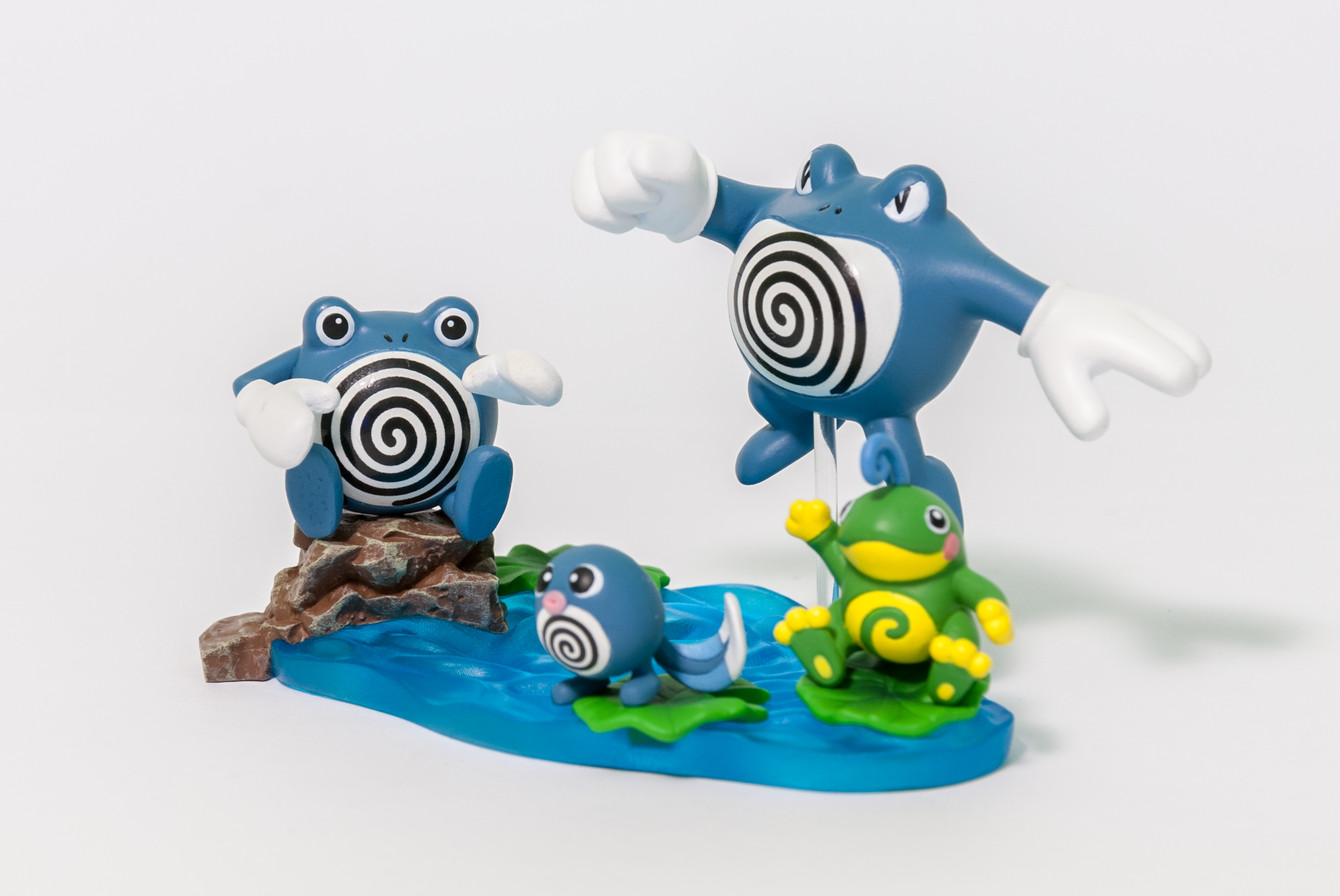 DS Studio 17: Poliwag/Poliwhirl/Poliwrath/Politoad