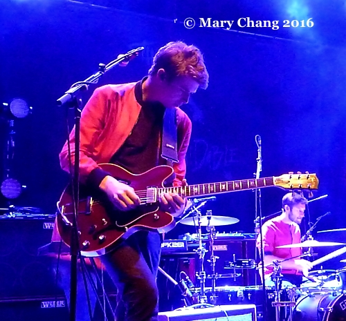 Alex Robertshaw of Everything Everything at 9:30 Club, April 2016 1