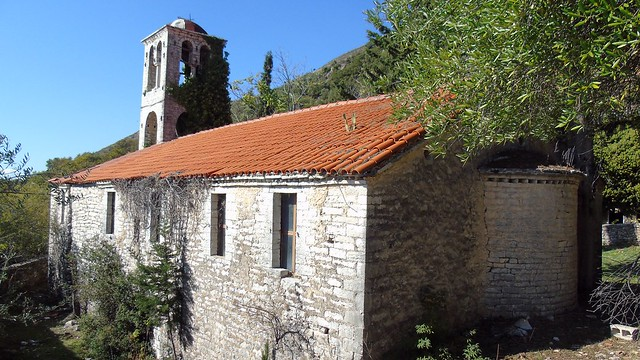 Η εκκλησία του Αγίου Γεωργίου στην παλιά Σαγιάδα