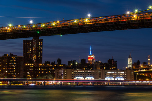 Hora azul en NYC