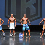 Men's Physique - Masters 40  - 4th Scott Newman-2nd Alberto Woods-1st Ron Bui-3rd Martin Gendron-2