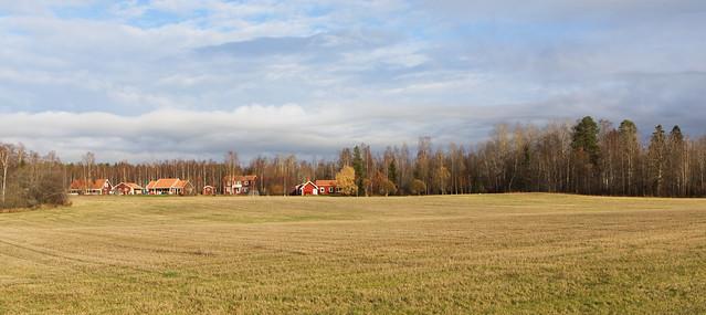 Sunny Autumn day in Stjärnsund