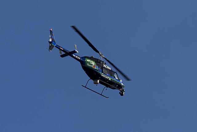 KCRA LiveCopter 3 Bell 206-L4 N3QY