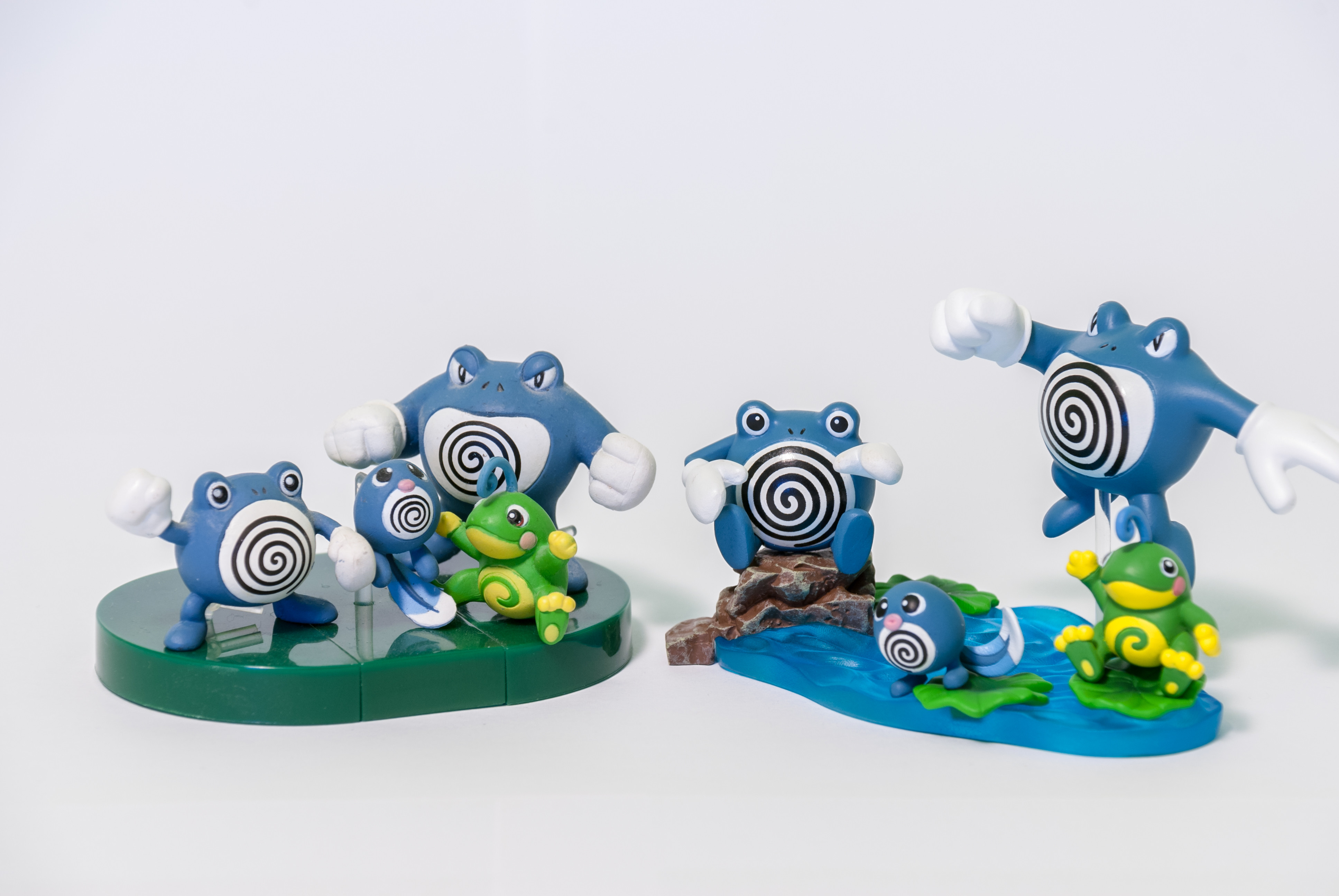 GSC 03: Poliwag/Poliwhirl/Poliwrath/Politoad and DS Studio 17: Poliwag/Poliwhirl/Poliwrath/Politoad
