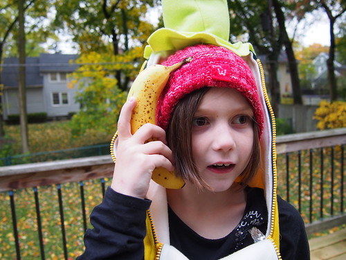 Banana girl + banana phone!