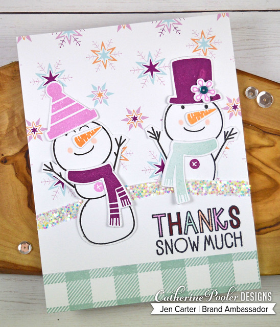 Build a Snowman Chillin Snowflakes Feeling Chilly Paper 1 JDC