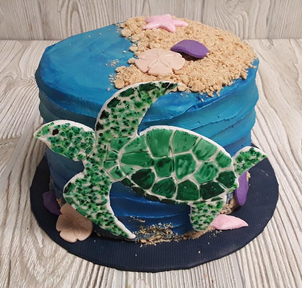 Cool Sea Turtles A Photo On Flickriver Personalised Birthday Cards Veneteletsinfo