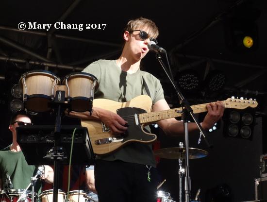 Evan Klar at BIGSOUND 2017 Tuesday