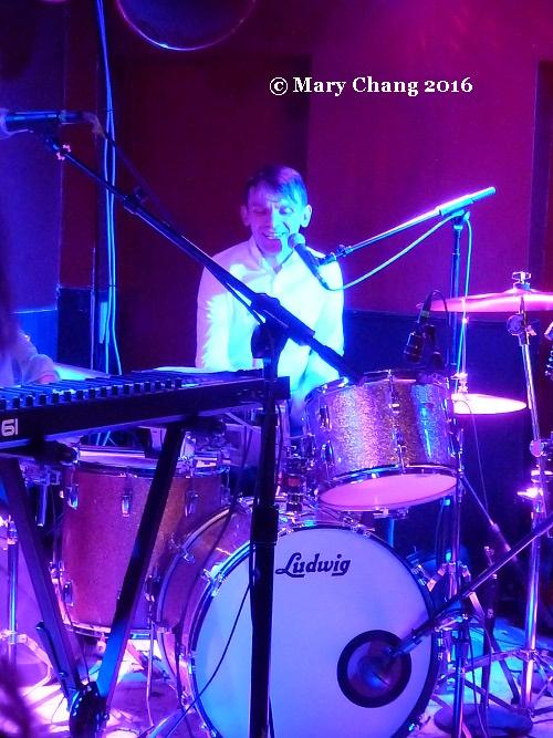 David Brewis of Field Music at DC9, Washington DC, 24 March 2016 2