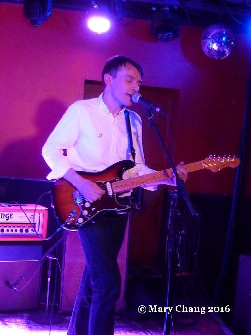 David Brewis of Field Music at DC9, Washington DC, 24 March 2016