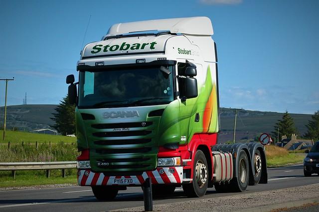 Stobart Scania Highline R450 PY15FXO Jenny Molly