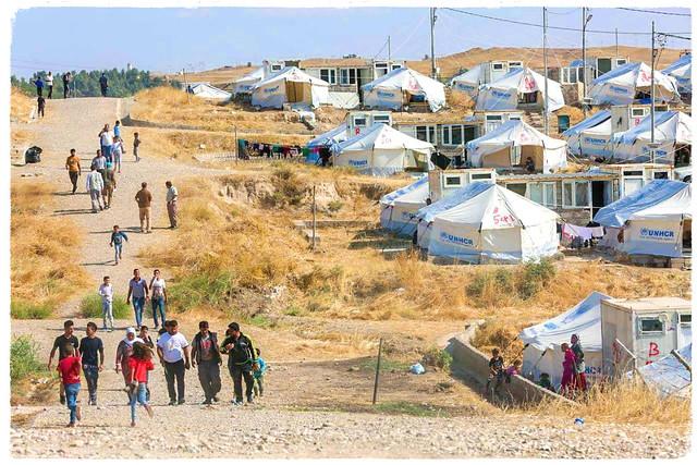 Bardarash camp, Syrian refugees camp