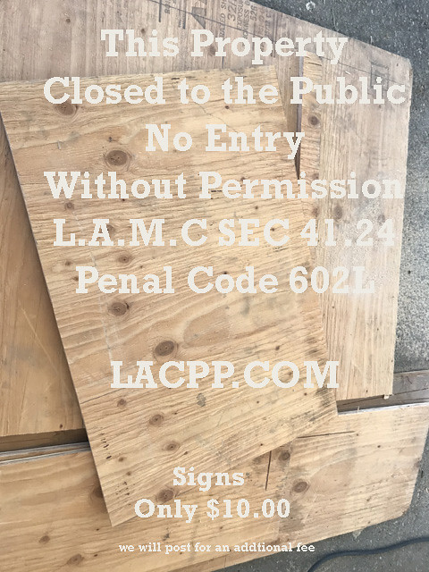 los angeles municipal code 4124