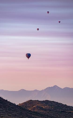 pentaxflickraward dawn hotairballoon pentaxart