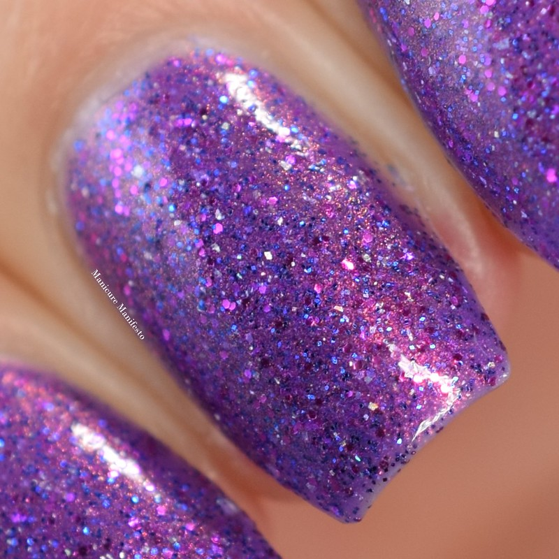 Paint It Pretty Polish No Glitter, No Glamour swatch