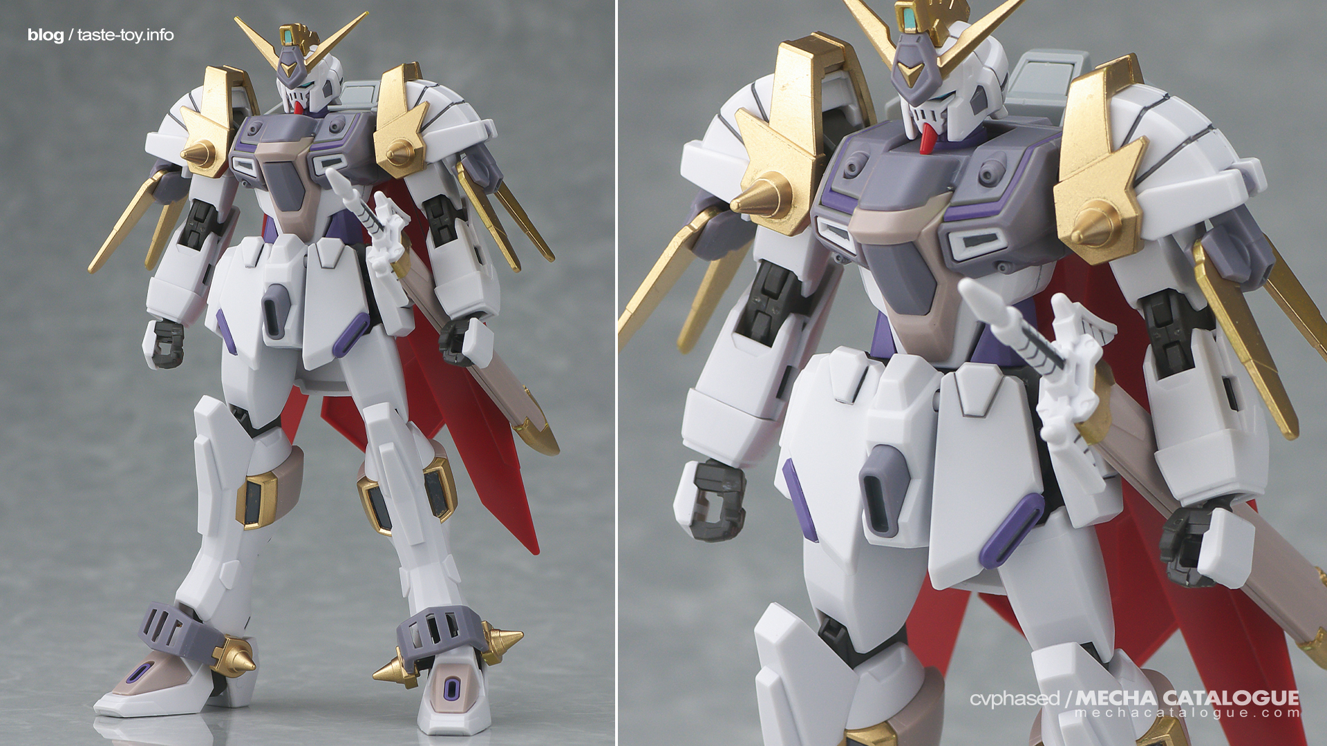 Plastic Crack: Colorways for HGBD:R Gundam Justice Knight