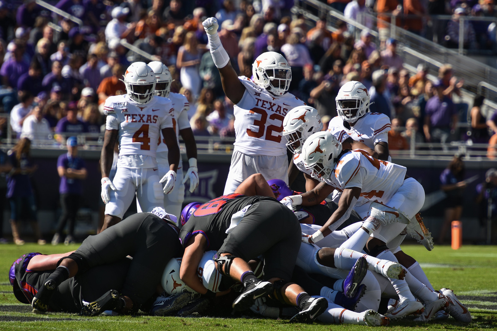 Texas Football v Texas Christian University | 10.26.19