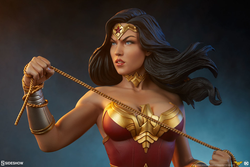 Sideshow Collectibles DC Comics【神力女超人】Wonder Woman 胸像作品