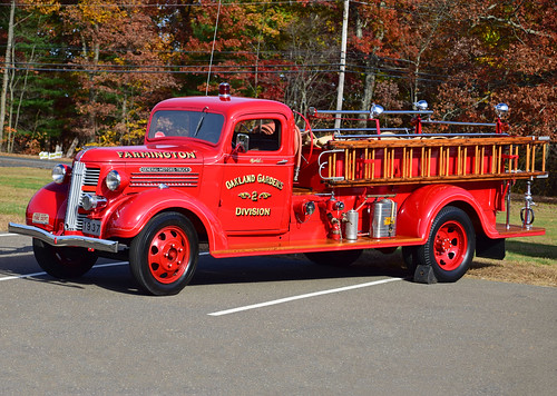 ct fire truck farmington gmc engine antique
