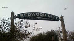 The Welcome sign in Downtown Redwood City 11