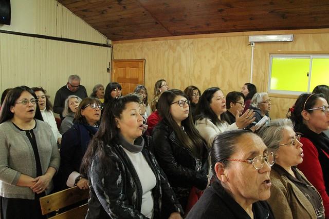 Evento de Dorcas  en IMPCH Villa Hermosa
