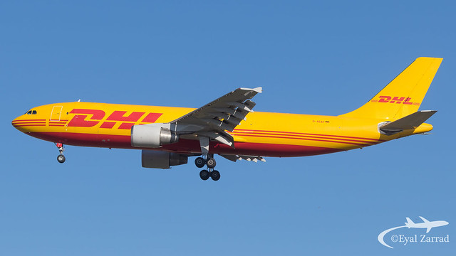 MXP - DHL Airbus A300-600 Freighter D-AEAF