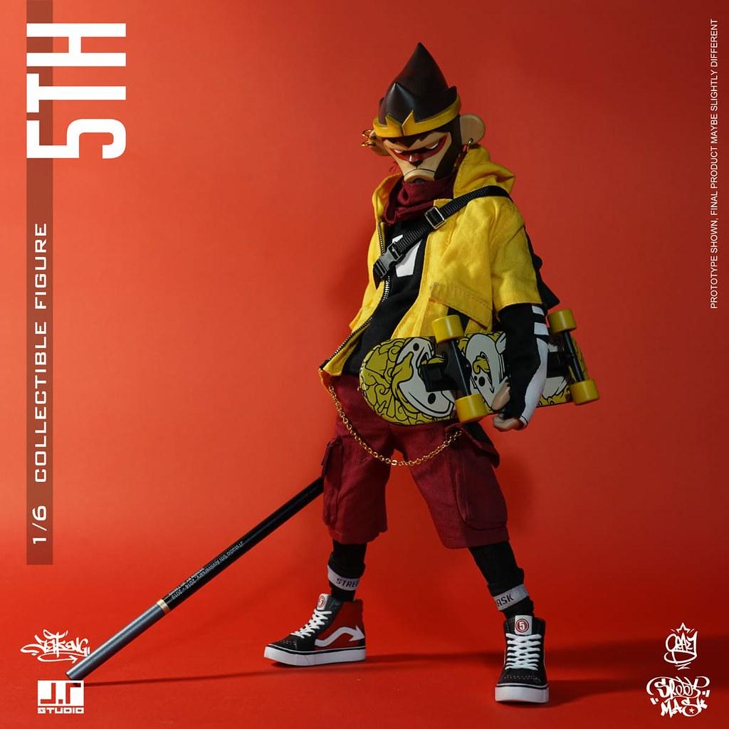 注入更多細節與巧思的五週年作品! J.T Studio Street Mask 系列【5TH】1/6 比例人偶 普通版/豪華版