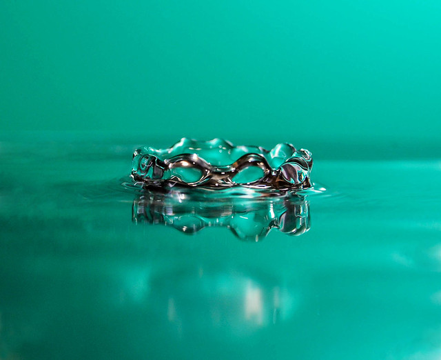 Water drop photography عکاسی قطره آب