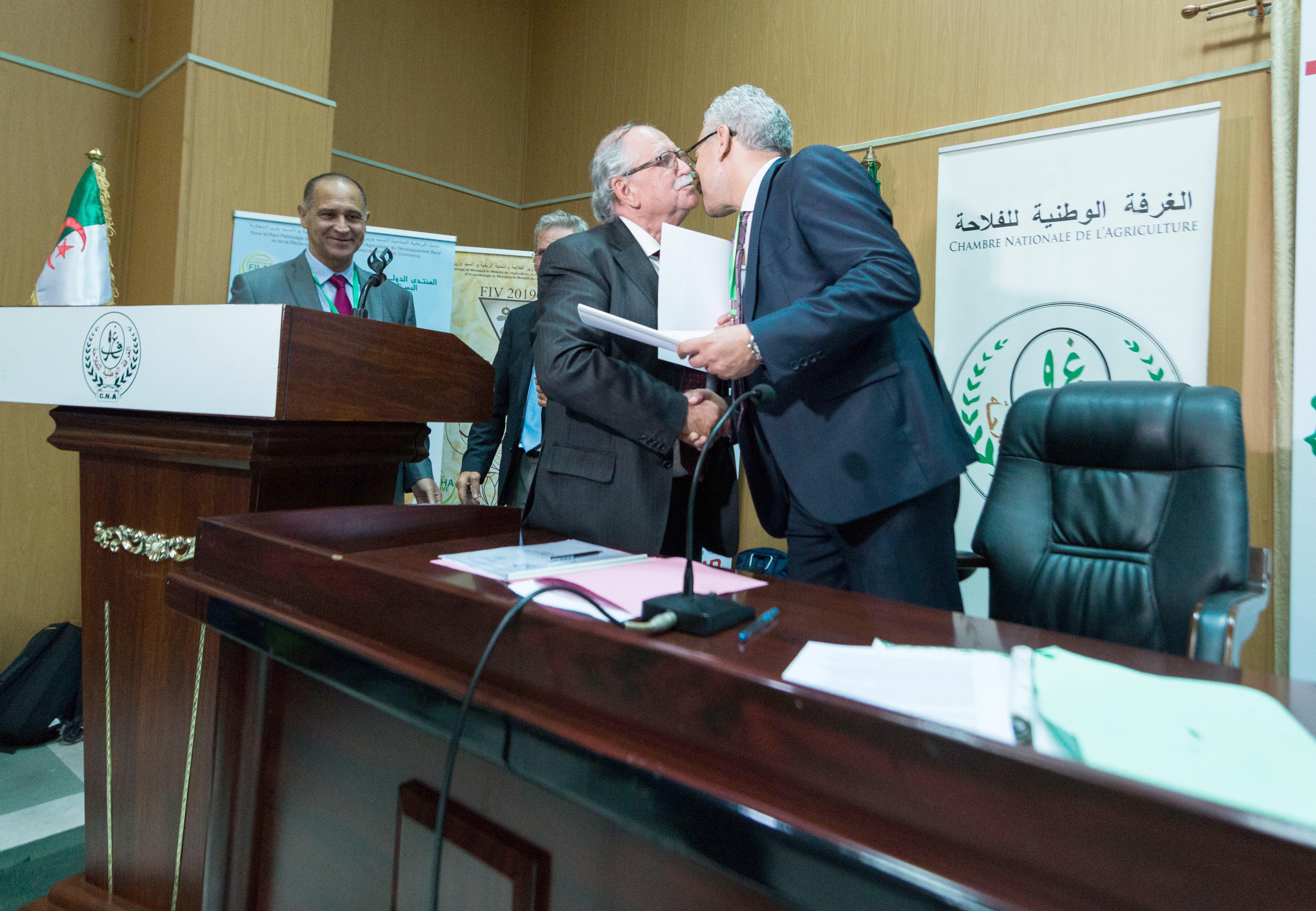 Signature du contrat Itgc- GRFI