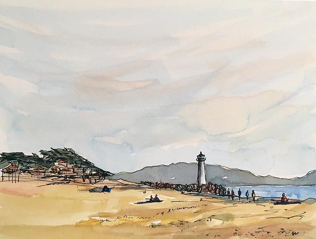 191020 Seabright Beach Santa Cruz