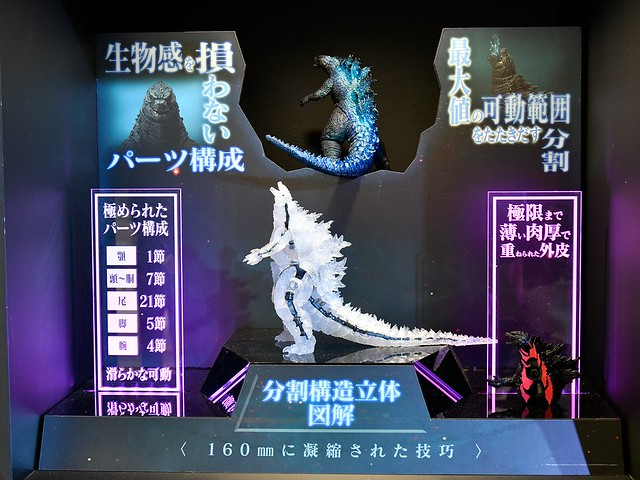 【TAMASHII NATION 2019】S.H.MonsterArts《哥吉拉2:怪獸之王》紅蓮哥吉拉(バーニングゴジラ)2019 試作品公開!