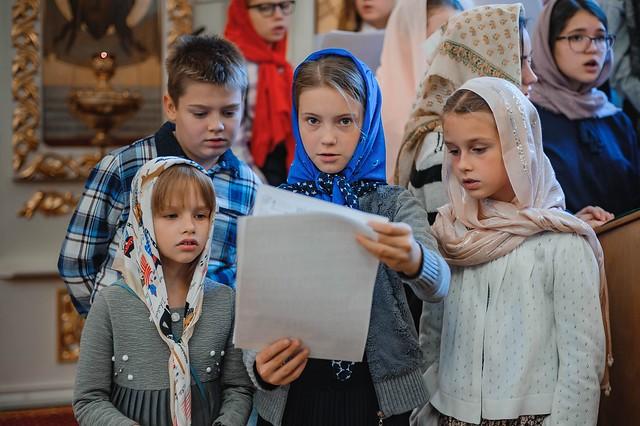27 октября 2019 г. Поздняя Божественная Литургия Недели 19-й по Пятидесятнице.