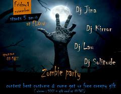 Halloween Zombie Party @FLOW SL