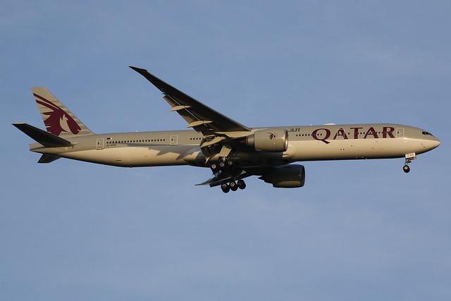 A7-BEO Qatar Airways Boeing 777-3DZ(ER)
