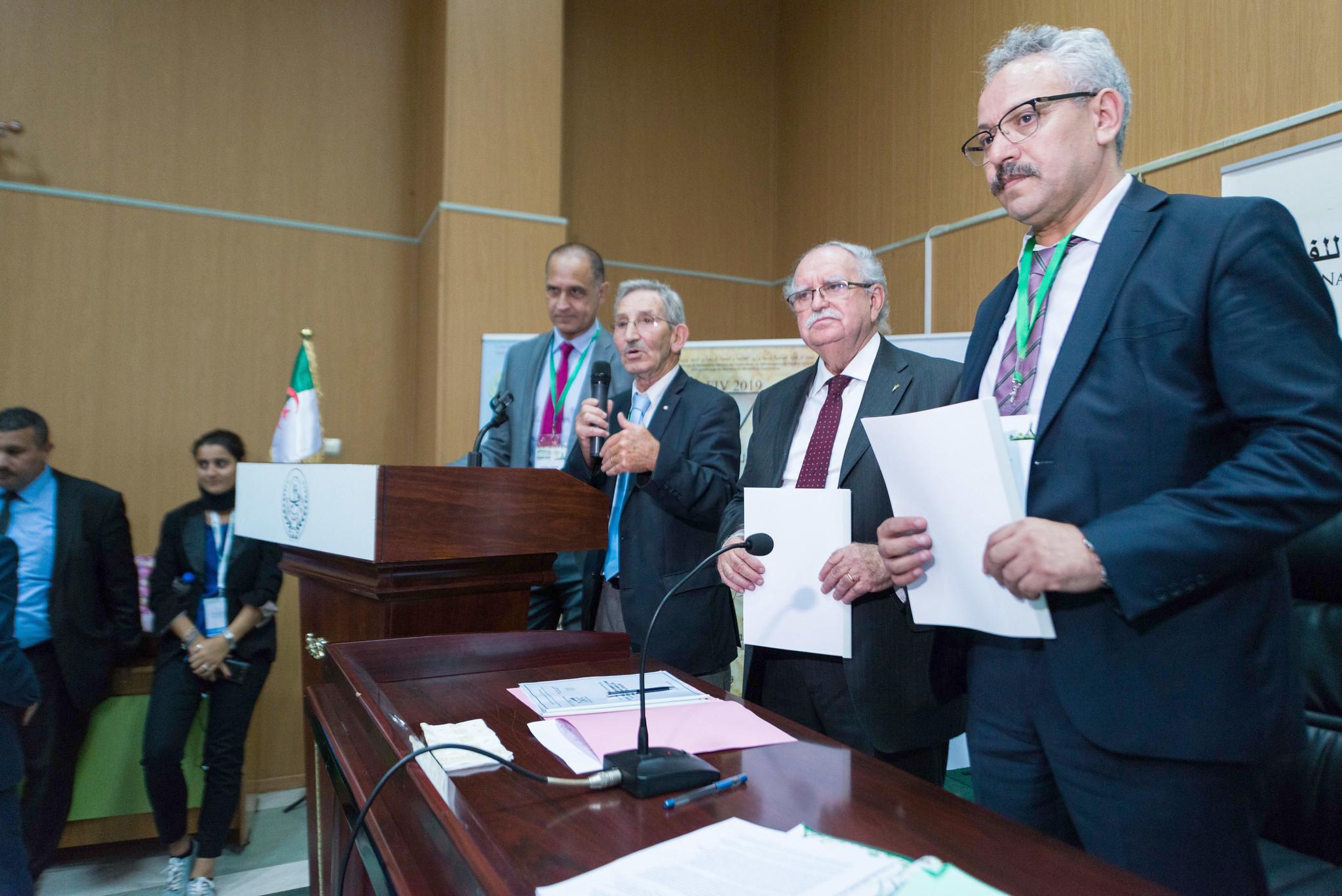 SIPSA-FILAHA 2019 - Signature du contrat Itgc - GRFI