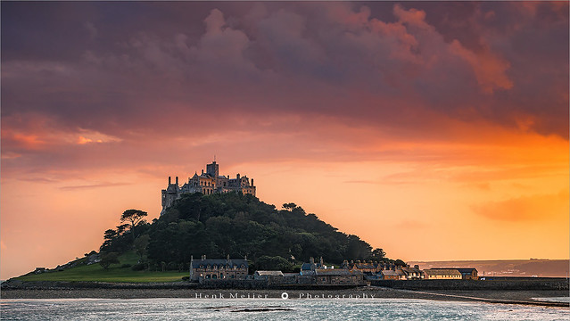St Michael's Mount - Cornwall - England