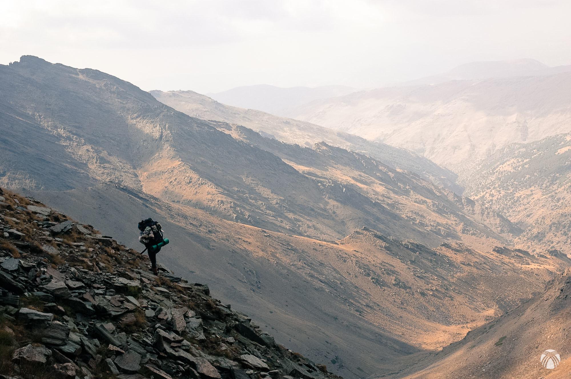 Todo el valle del río Genil se despliega bajo nuestros pies