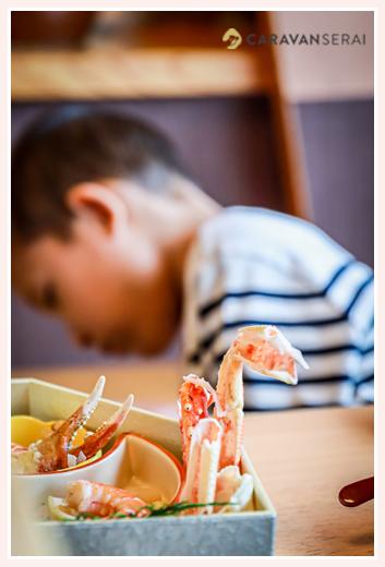 甲羅本店 かにを食べた後の殻