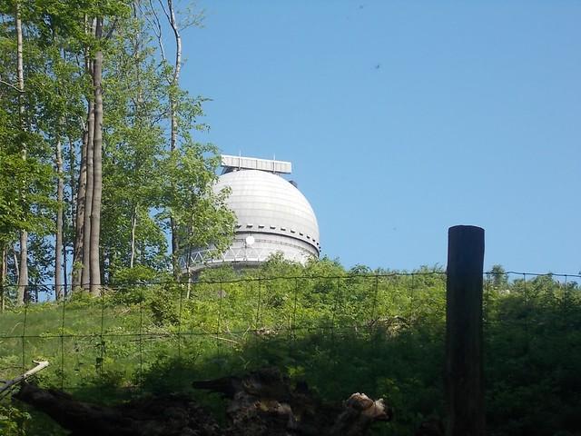 VCSE - Az egyméteres kupola kissé közelebbről - Csizmadia Ákos