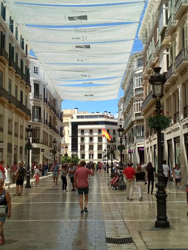 Малага - Улица Маркес де Лариос