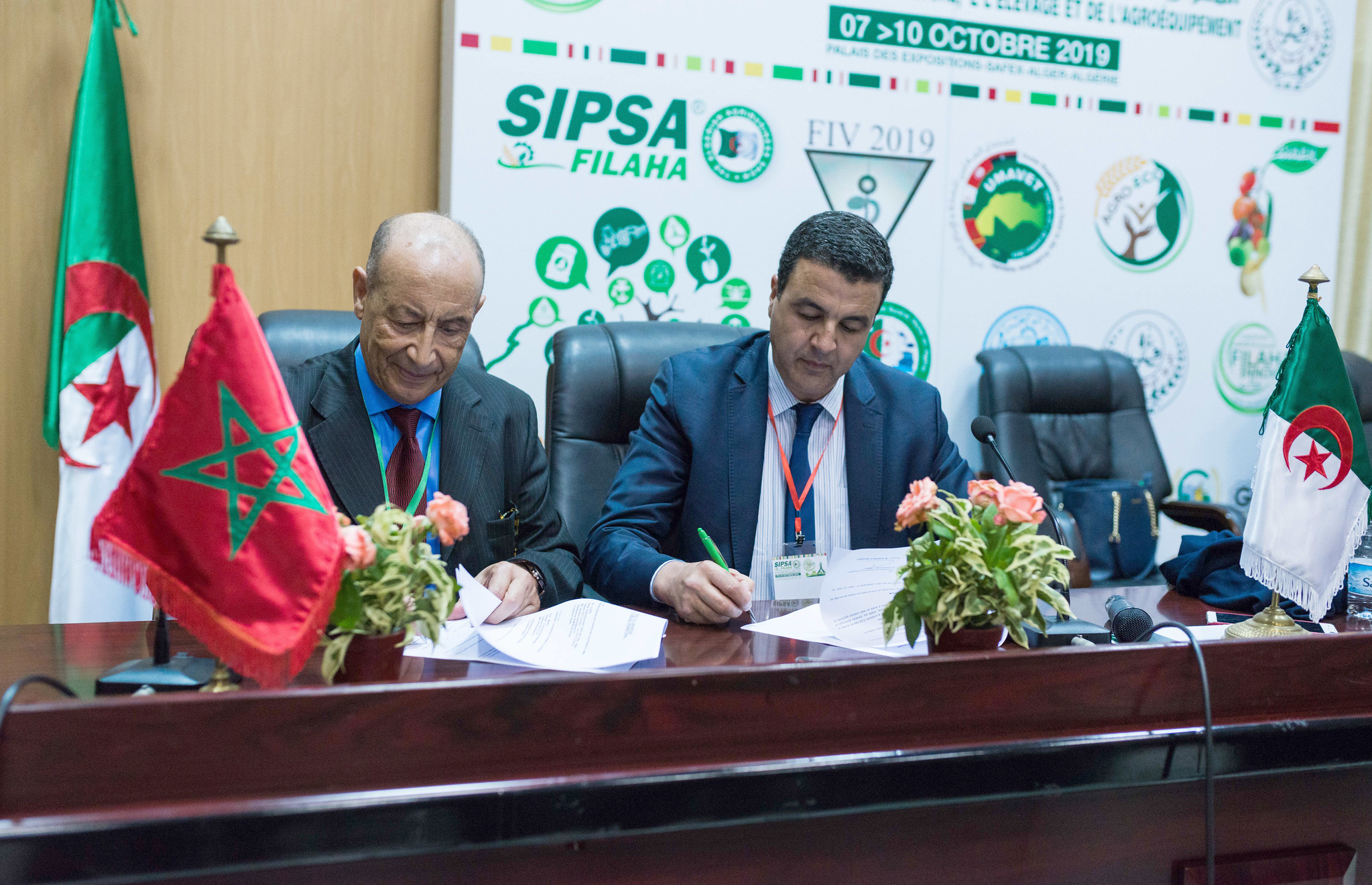 SIPSA-FILAHA 2019 - Signature du Protocole Maroc - Algérie