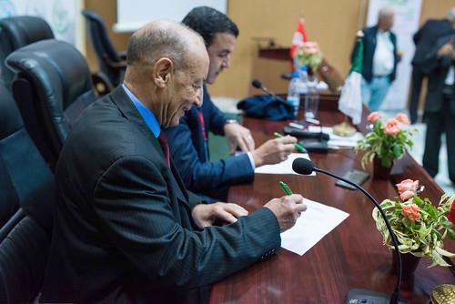 Signature du Protocole Maroc - Algérie 2019